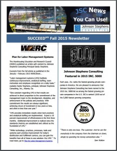 Fall 2015 Newsletter Image