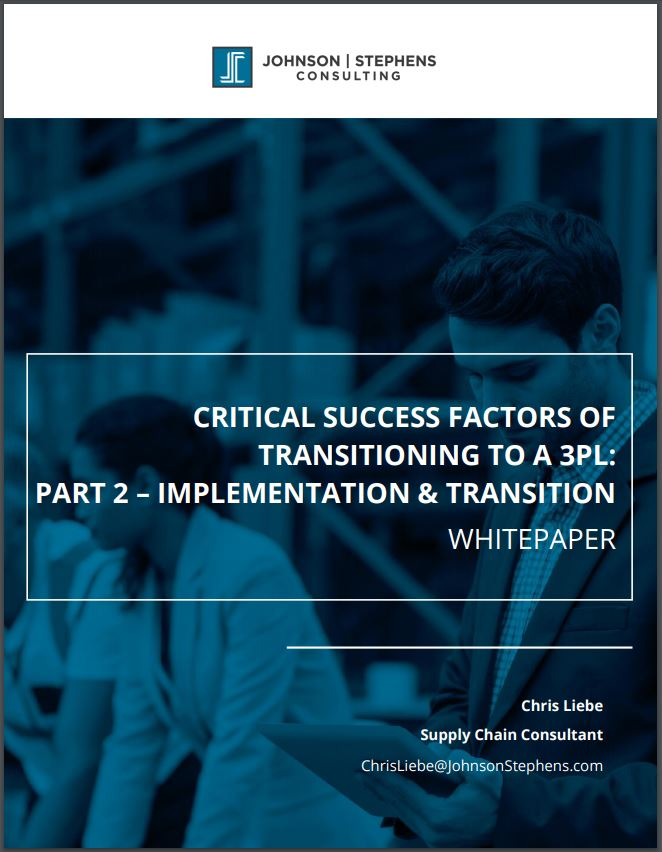 Critical Success Factors of Transitioning to a 3PL